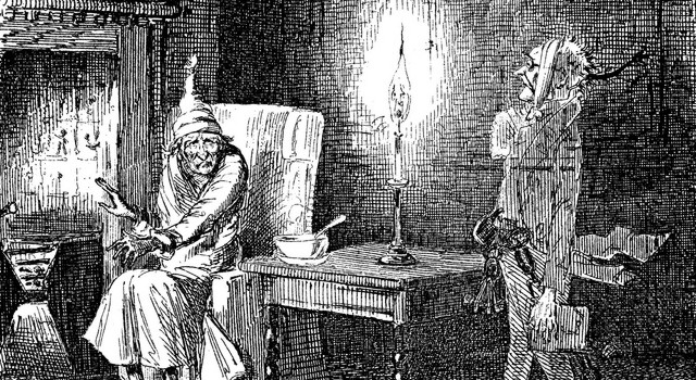 A Christmas Carol Scrooge And Marley.Marley S Ghost Was Haunted By Regret Marotta On Money