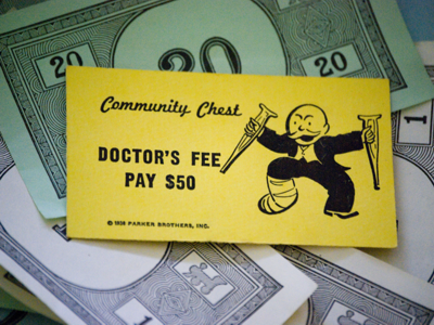 Monopoly Doctor's Fee