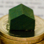 Monopoly House on Coin