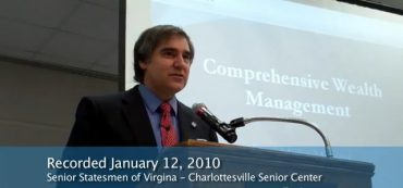 Video: Comprehensive Wealth Management: Life Planning, Part 8