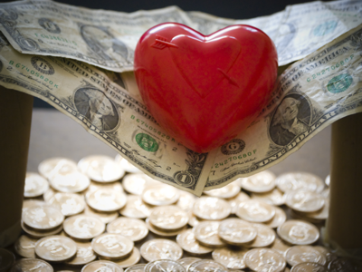 Heart on Money Hammock