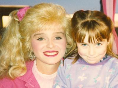 Megan and Barbie