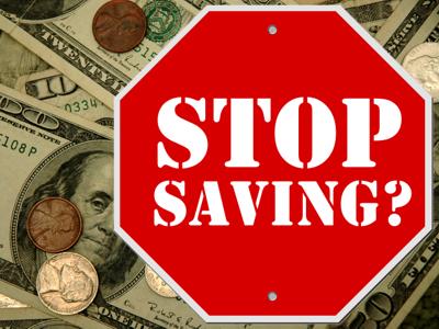 Stop Saving?