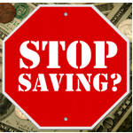 Stop Saving?