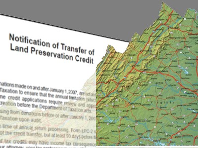Virginia Land Preservation Easement Tax Credits