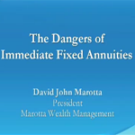 Danger of Immediate Fixed Annuities