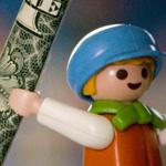 Children With Money Baton