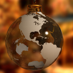 Christmas Globe Ornament
