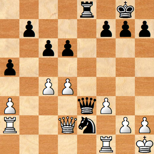 Chess: David John Marotta vs. Edward Teller Game 2