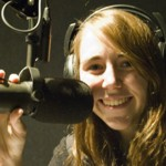 Megan on the Radio