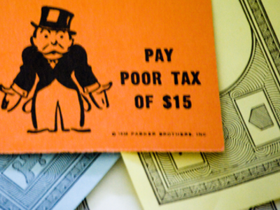 Pay Poor Tax of $15