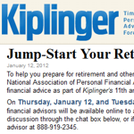 """True or false: All financial advisors are crooks"" asks Kiplinger-NAPFA chat"