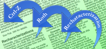 Roth IRA Recharacterization 2012: Undoing a Roth Conversion