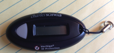 Schwab VeriSign Security Measures