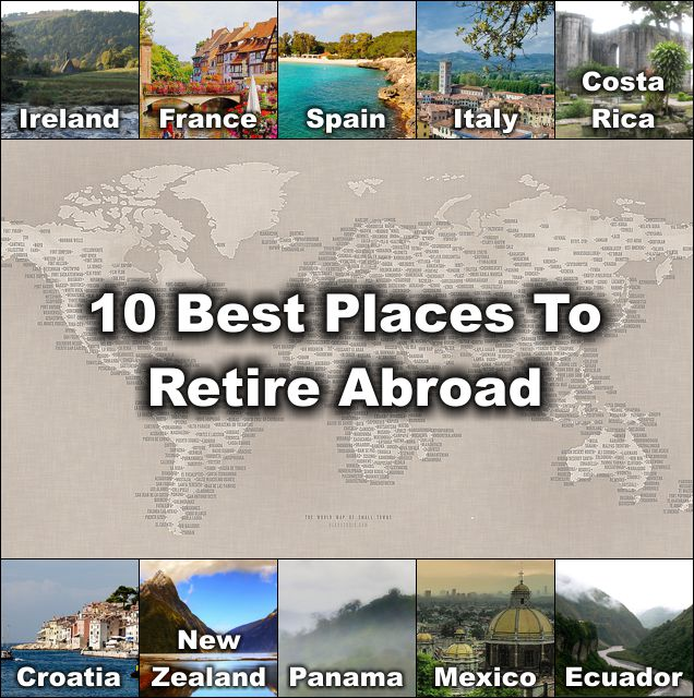 10 Best Places To Retire Abroad