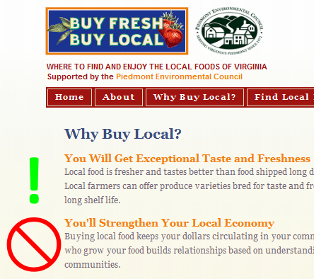 Buy fresh. Buy local.