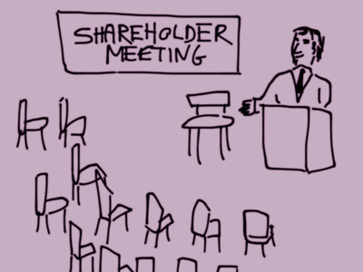 shareholder meeting