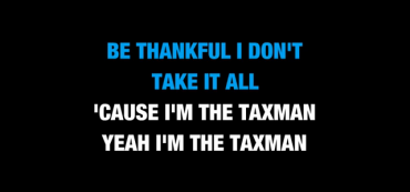 Video: Even the Beatles were against highly progressive taxes!