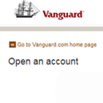 Vanguard account opening