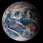 The blue marble of earth 2007