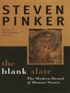 The Blank Slate by Stephen Pinker