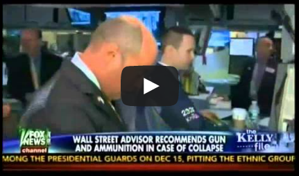 Wall Street Adviser: Stock up on Guns and Ammo for the Collapse