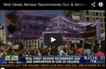Wall Street Advisor Recommends Gun & Ammunition In Case Of Collapse