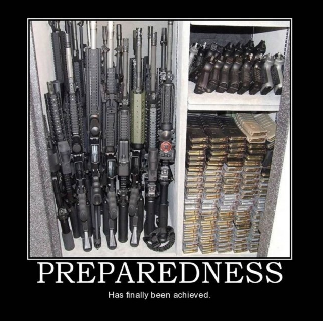 Preparedness has finally been achieved.