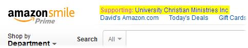 AmazonSmile Supporting