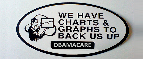 We have charts and graphs to back us up.