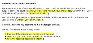 Ten Red Flags Of Emails Trying To Steal Your Identity
