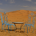Chairs in the Desert