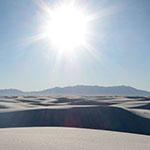 Sun Blasts Dunes