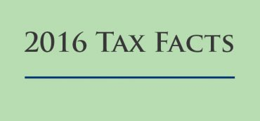 2016 Tax Facts