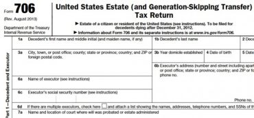 Understanding the Estate Tax Return