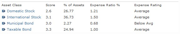 Morgan Stanley Mutual Fund Family Expense Ratios