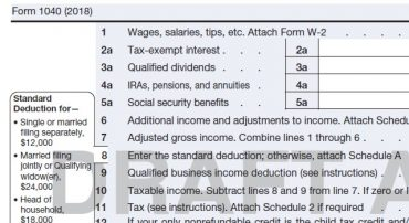 Early Preview of 2019 IRS Forms