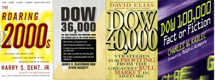 Books optimistic about the markets