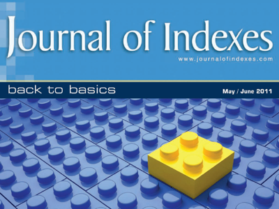 Journal of Indexes May/June 2011
