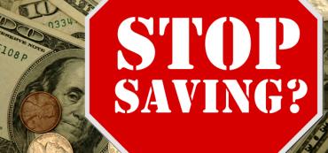 Stop Saving