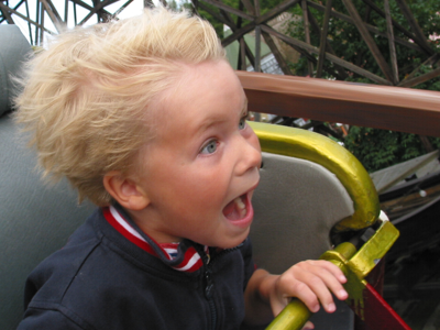 Scary Roller Coaster
