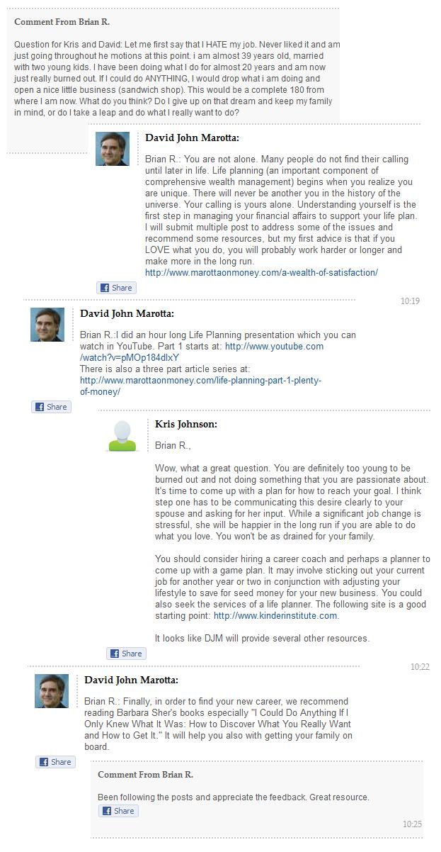 Kiplinger chat on 2012-01-12