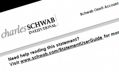 Schwab Statement