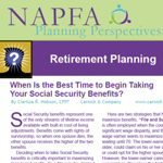 Social Security Planning from the 2012 January / February issue of Planning Perspectives