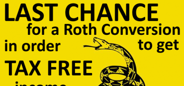 Last Chance for a Roth Conversion during 2012