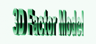 Three-Factor Model Goes 3D