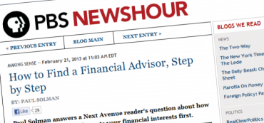 How to Find a Financial Advisor, Step by Step (PBS Newshour)