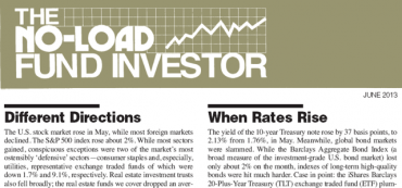 """""""Different Directions"""" and """"When Rates Rise"""" Market Commentary"""