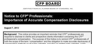 Importance of Accurate Compensation Disclosures For Consumers