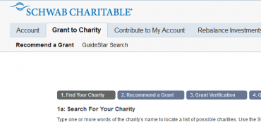 How To Designate Charitable Gifts In Your Schwab Donor Advised Account